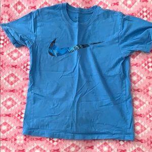 Nike shirt.